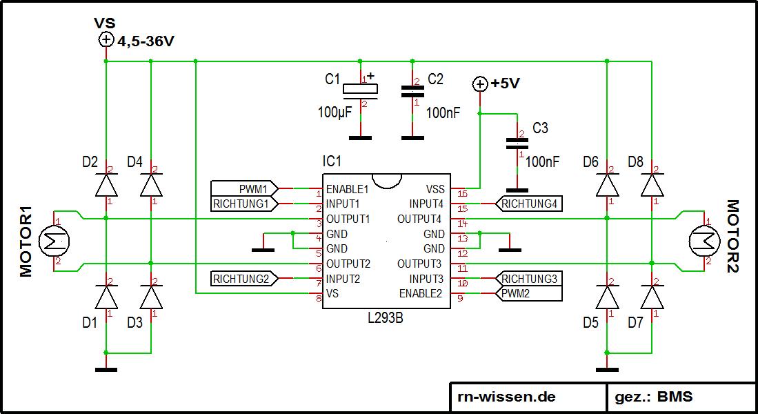Wunderbar Elektromotor Schaltung Ideen - Elektrische Schaltplan ...